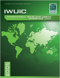 cover image - 2009 International Wildland Urban Interface Code