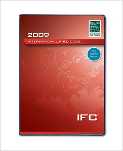 cover image - 2009 International Fire Code (PDF CD) - Single Seat