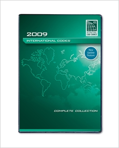 cover image - 2009 I Codes Complete Collection (PDF CD)  - Single Seat
