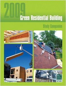 cover image - 2009 Green Residential Building Study Companion
