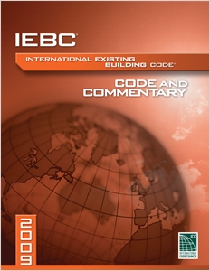 cover image - 2009 International Existing Building Code Commentary