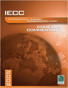 cover image - 2009 International Energy Conservation Code Commentary