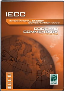 cover image - 2009 International Energy Conservation Code Commentary CD