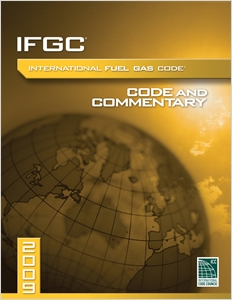 cover image - 2009 International Fuel Gas Code Commentary CD