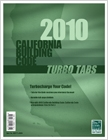 cover image - 2010 California Building Turbo Tabs
