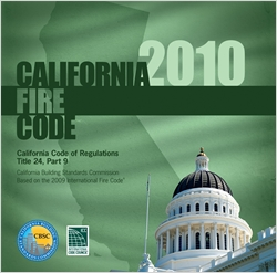 cover image - 2010 California Fire Code, Title 24 Part 9