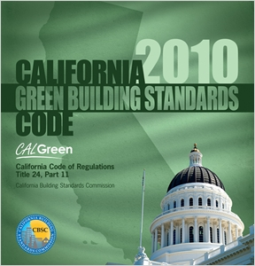 cover image - 2010 California Green Building Standards Code, Title 24 Part 11 (CALGreen)