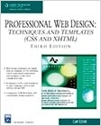 cover image - Professional Web Design, Techniques and Templates (CSS & XHTML)