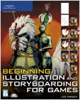 cover image - Beginning Illustration and Storyboarding for Games
