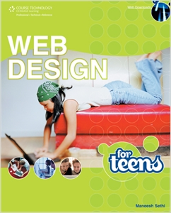 cover image - Web Design for Teens