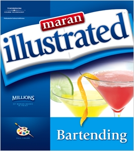 cover image - Maran Illustrated Bartending