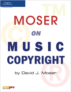 cover image - Moser on Music Copyright