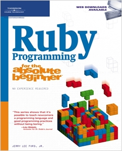 cover image - Ruby Programming for the Absolute Beginner