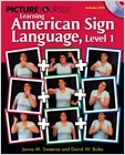 cover image - Picture Yourself Signing ASL, Level 1