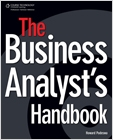 cover image - The Business Analyst's Handbook