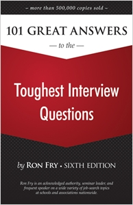 cover image - 101 Great Answers to the Toughest Interview Questions