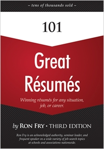 cover image - 101 Great Resumes