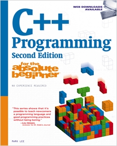 cover image - C++ Programming for the Absolute Beginner