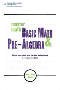 cover image - Master Math: Basic Math and Pre-Algebra