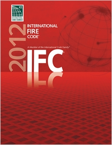 cover image - 2012 International Fire Code