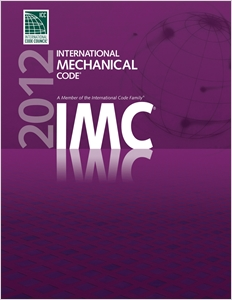 cover image - 2012 International Mechanical Code