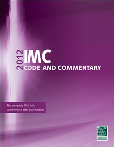 cover image - 2012 International Mechanical Code Commentary