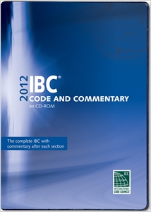 cover image - 2012 International Building Code Commentary Combo (Vol. 1 & 2) CD-ROM