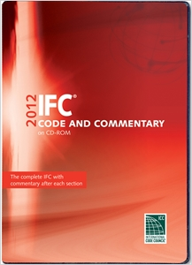 cover image - 2012 International Fire Code Commentary CD-ROM