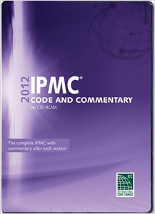 cover image - 2012 International Property Maintenance Code Commentary CD-ROM