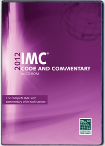 cover image - 2012 International Mechanical Code Commentary CD-ROM