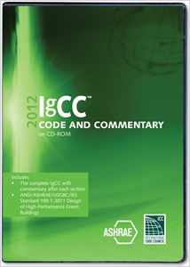 cover image - 2012 International Green Construction Code Commentary CD-ROM
