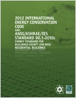 cover image - 2012 International Energy Conservation Code with ASHRAE Standard