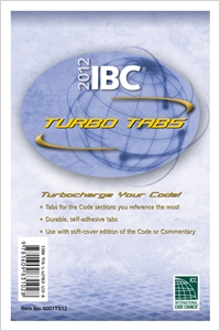 cover image - 2012 International Building Code Turbo Tabs for Soft Cover Edition