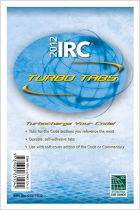 cover image - 2012 International Residential Code Turbo Tabs for Softcover Edition