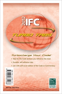 cover image - 2012 International Fire Code Turbo Tabs