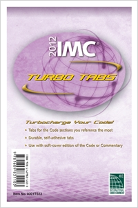 cover image - 2012 International Mechanical Code Turbo Tabs for Loose Leaf Edition