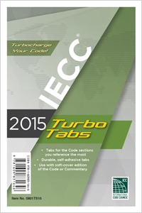 cover image - 2015 International Energy Conservation Code® Turbo Tabs