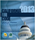 cover image - 2013 California Fire Code, Title 24 Part 9