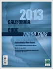cover image - Turbo Tabs: 2013 California Building Code, Title 24 Part 2