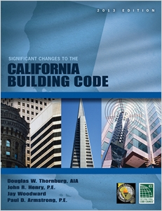 cover image - Significant Changes to the California Building Code, 2013