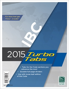 cover image - 2015 International Building Code® Turbo Tabs for Loose Leaf Edition
