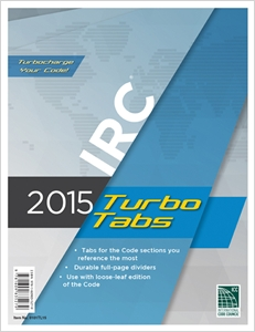 cover image - 2015 International Residential Code® Turbo Tabs for Loose Leaf Edition