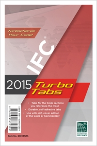 cover image - 2015 International Fire Code Turbo Tabs for Paperbound Edition