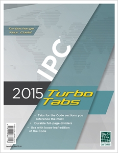 cover image - 2015 International Plumbing Code® Turbo Tabs for Loose Leaf Edition