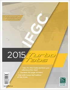 cover image - 2015 International Fuel Gas Code® Turbo Tabs for Loose Leaf