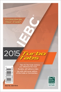 cover image - 2015 International Existing Building Code® Turbo Tabs for Paperbound Edition