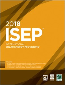 cover image - 2018 International Solar Energy Provisions