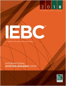 cover image - 2018 International Existing Building Code® Loose-leaf Version