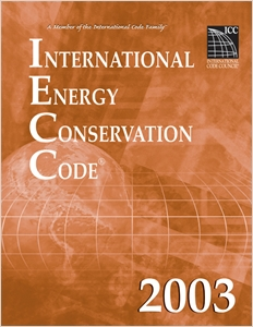 cover image - International Energy Conservation Code 2003, Looseleaf Version
