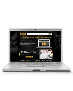 cover image - DEWALT® Plumbing Online Licensing Exam Preparation